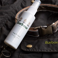 barbour dog spray