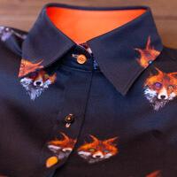 ladies fox shirt
