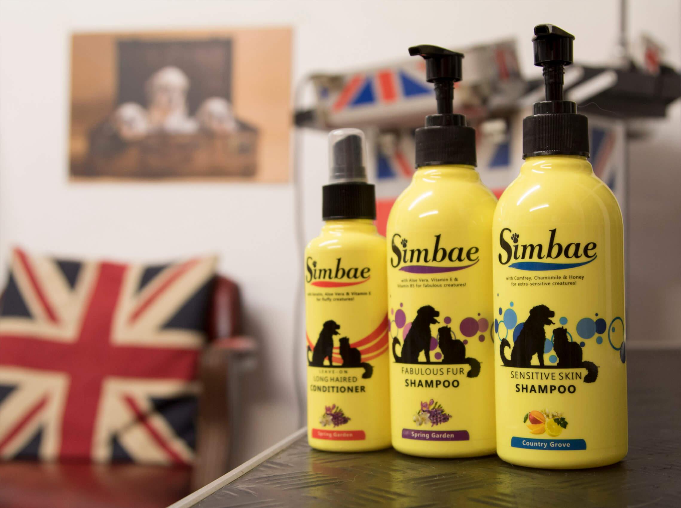pet groomers shampoo