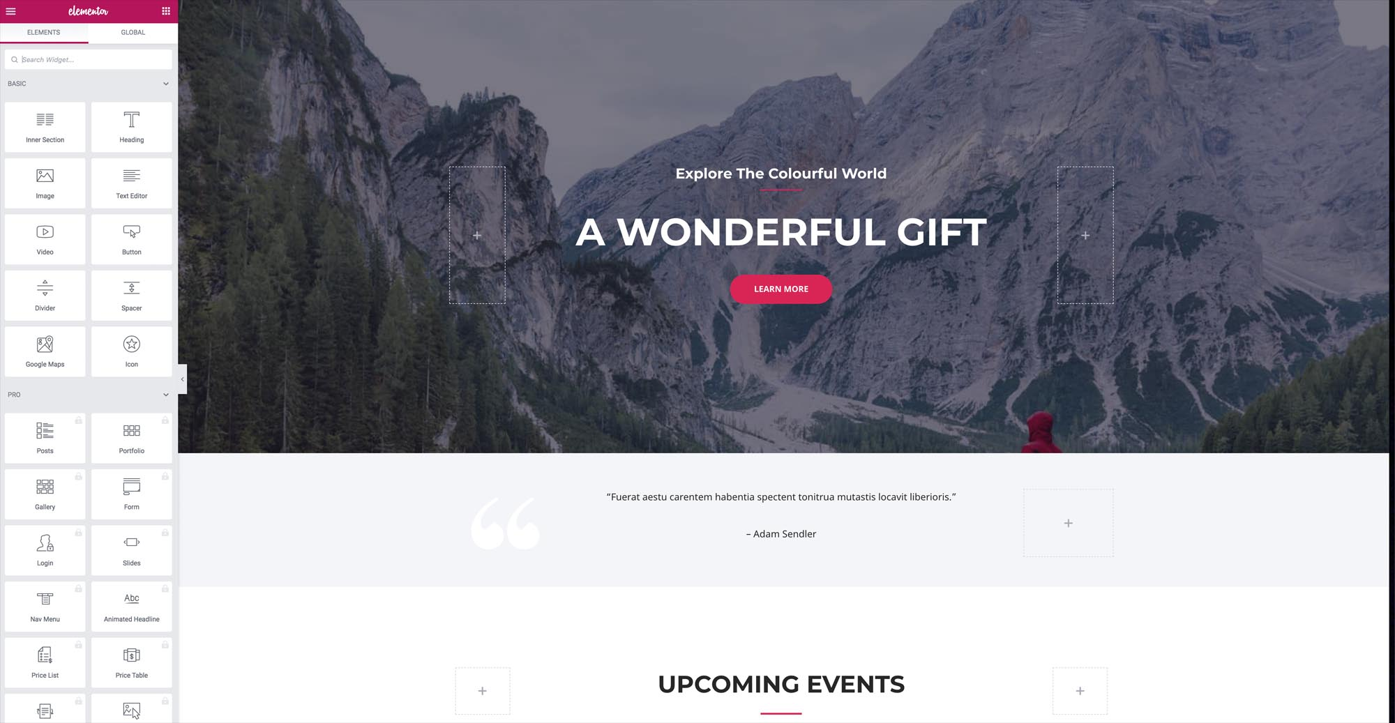 free page builder for wordpress