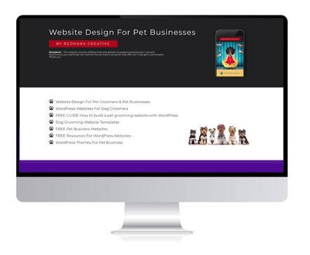 DOG BUSINESS WEBSITES