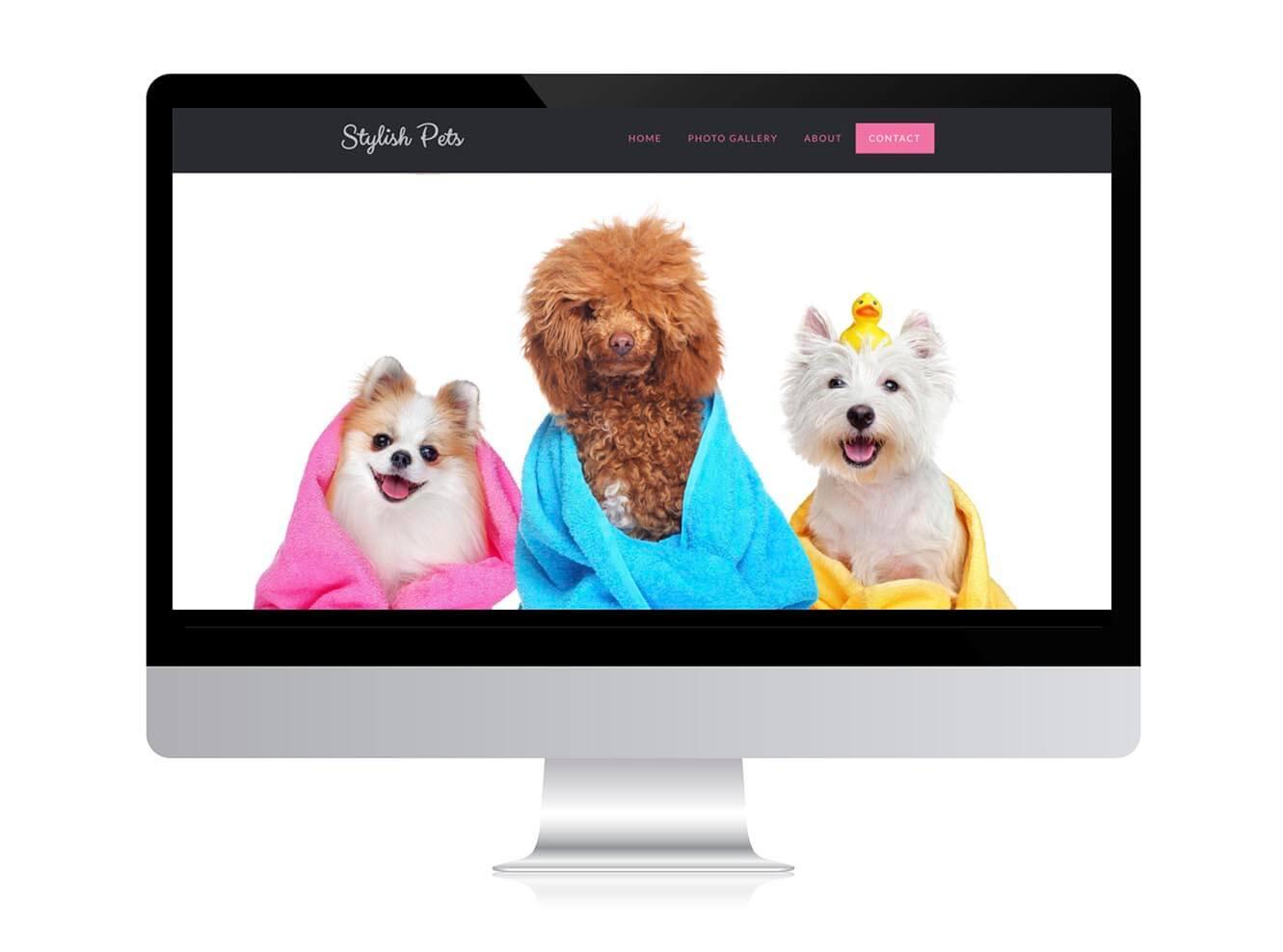 wordpress pet business website
