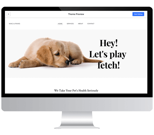 FREE DOG WEBSITE