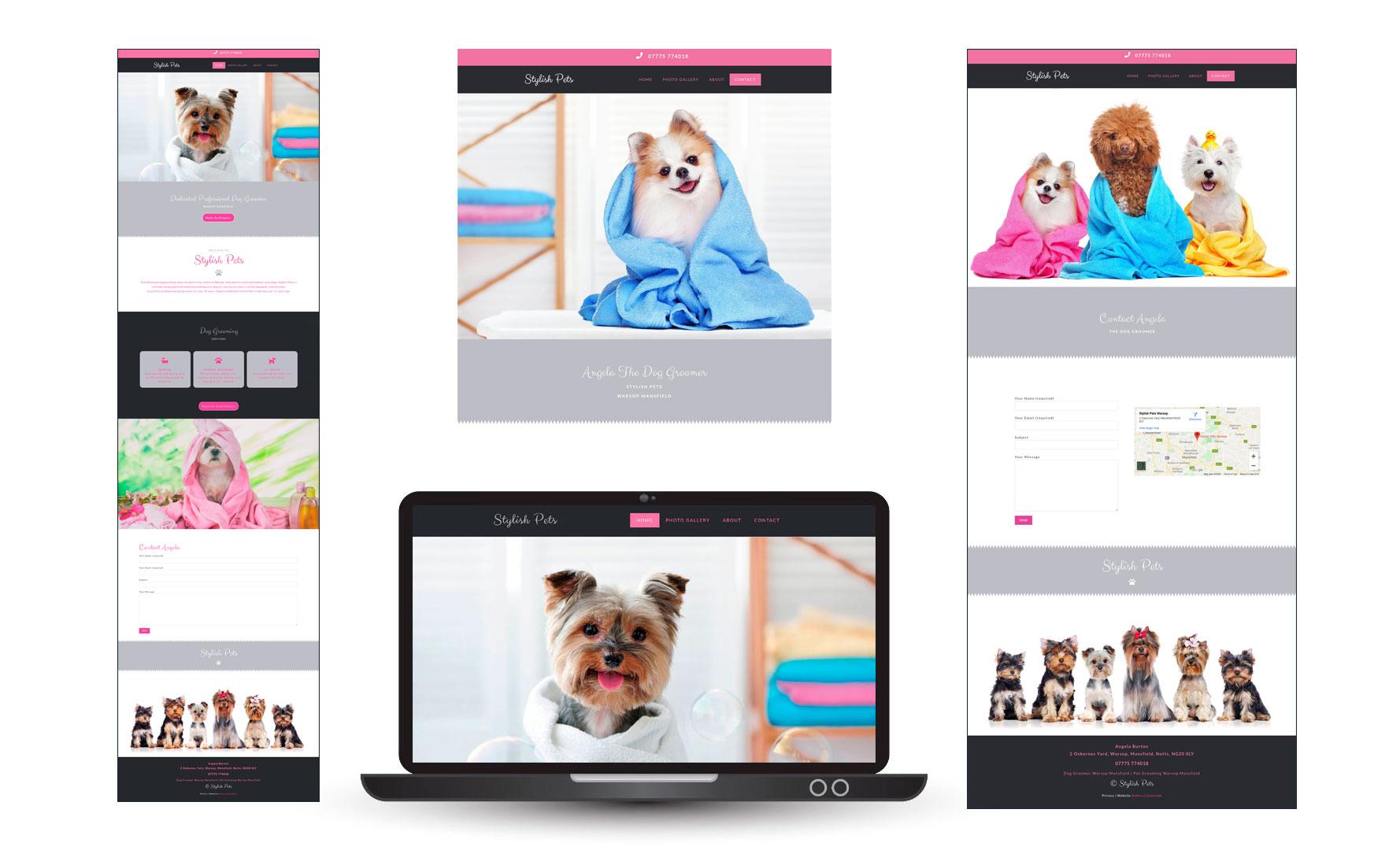 dog grooming websites