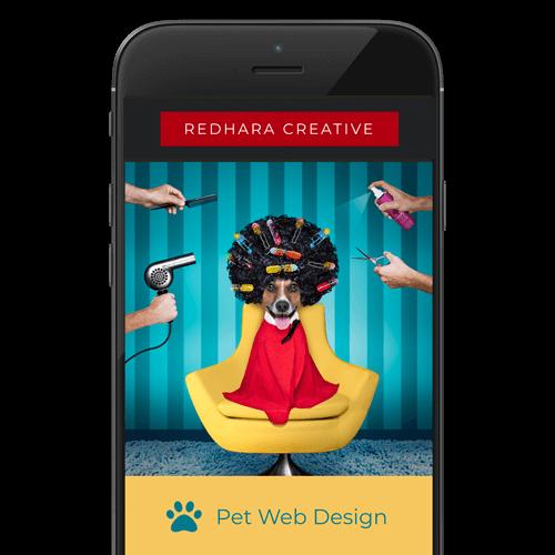WEBSITE DESIGN FOR DOG BUSINESS