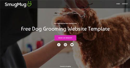 free dog websites